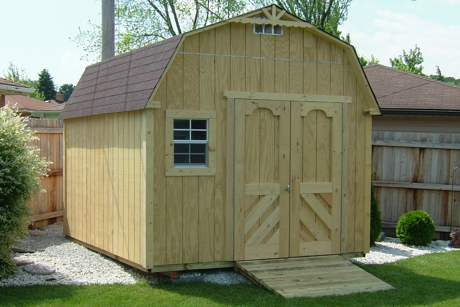 how to prepare your yard for your new shed | storage buildings