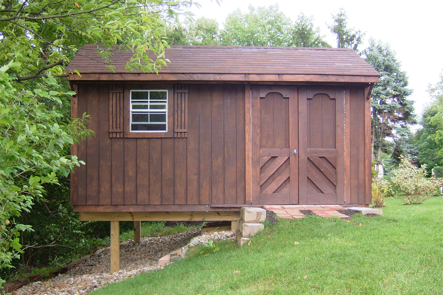 How to prepare your yard for your new shed storage for Yard barn