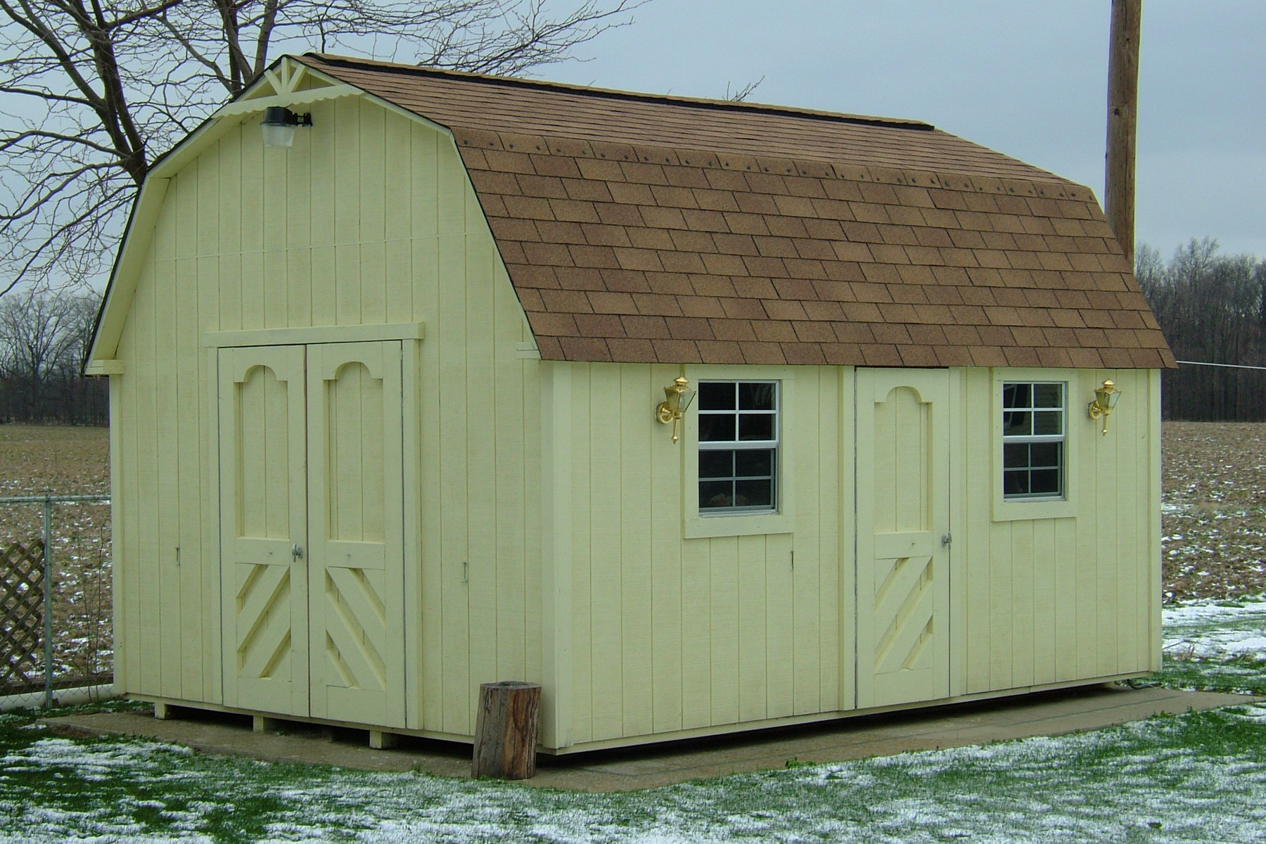 Tall Barn Storage Buildings Unlimited