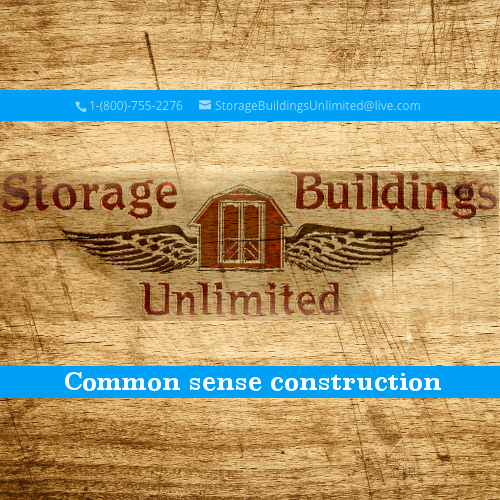 Storage Buildings Unlimited | Superior Built Back Yard Storage Buildings